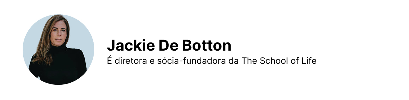 Assinatura de Jackie de Botton