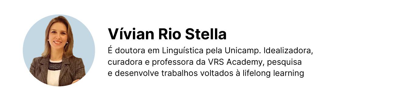 Assinatura de Vívian Rios