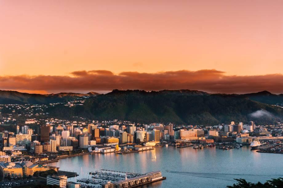 Compacta e moderna, Wellington na Nova Zelândia consegue aliar proteção de suas áreas verdes com crescimento econômico. E não importa onde você trabalhe, há um happy hour te esperando a menos de 15 minutos andando de lá.