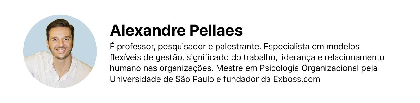 Assinatura de Alexandre Pellaes